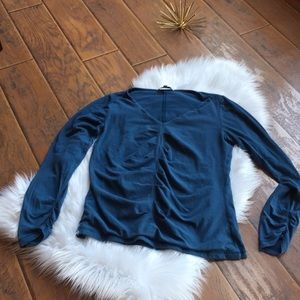 Cabi Long Sleeve Top - Size Large
